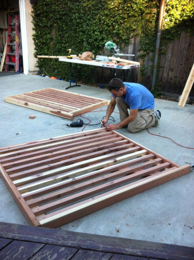 steve making new gate